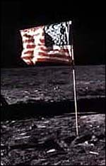 moon landing hoax flag - photo #10